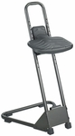Stand Alone 21'' to 35'' Adjustable Height Drafting Stool - Black [5126-FS-SAF]