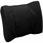 BetterBack® Flat Back Seat Design Standard Lumbar Support Cushion - Black [BB6001BK-FS-JB]