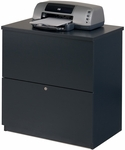 Two Drawer Standard Lateral File for Legal and Letter Sized Papers - Charcoal [65635-2167-FS-BS]