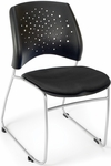 Stars Stack Chair - Black Seat Cushion [325-2224-MFO]
