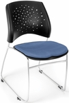 Stars Stack Chair - Colonial Blue Seat Cushion [325-2204-MFO]