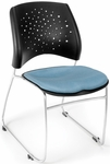 Stars Stack Chair - Cornflower Blue Seat Cushion [325-2206-MFO]