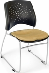 Stars Stack Chair - Golden Flax Seat Cushion [325-2205-MFO]
