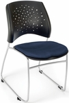 Stars Stack Chair - Navy Seat Cushion [325-2203-MFO]