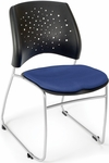 Stars Stack Chair - Royal Blue Seat Cushion [325-2210-MFO]