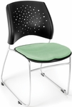 Stars Stack Chair - Sage Green Seat Cushion [325-2207-MFO]