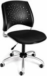 Stars Swivel Chair - Black [326-2224-FS-MFO]