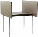 Conference Starter Carrel with Laminate Surface - 37''W x 48''D [01027-SCI]