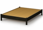 Step One Collection Full Platform Bed in Ebony [3077204-FS-SS]