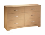 Step One Collection Triple Dresser in Maple [3113010-FS-SS]