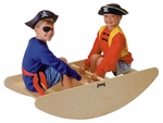 2-in-1 Step Stool and Rocking Boat Toy [0250JC-JON]