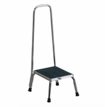 Step Stool with Handrail [11220-FS-BRW]