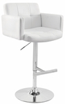 Stout Bar Stool White [BS-TW-STOUT-W-FS-LUMI]