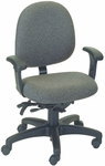 Stratus 24.5'' W x 22'' D x 37.25'' H Adjustable Height and Width Small Back Chair with Executive Control [E-31724-FS-EOF]