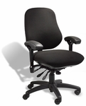 Stretch Manager Task Chair - Black [J2509SRASFSG3-FS-ERGS]