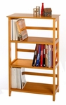 Studio 4 Shelf Bookcase [99342-FS-WWT]