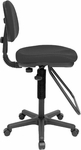 Studio Artist/Drafting Height Adjustable Chair - Black [CH202-FS-ALV]
