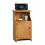 Summer Home 28''W x 47''H Wooden Gourmet Stand with Beaded Panel Framed Door - Carolina Oak [401902-FS-SRTA]