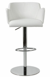 Sunny Bar/Counter Chair in White [17621WHT-FS-ERS]
