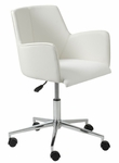Sunny Office Chair in White [17622WHT-FS-ERS]