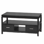 Sutton Black Coffee Table [84027BLK-01-KD-U-FS-LIN]