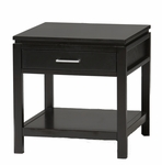Sutton End Table - Black [84028BLK-01-KD-U-FS-LIN]