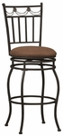 Swag 24''H Swivel Counter Stool [02760MTL-01-KD-U-FS-LIN]