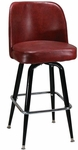 Swivel Barstool with a Single Ring [6307-HND]