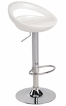 Swizzle Bar Stool White [BS-TW-SWZL-W-FS-LUMI]