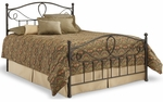 Sylvania Dynamic Style Metal Bed with Frame - Full - French Roast [B11774-FS-FBG]