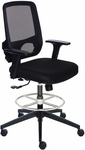 Sync Medium Height Drafting Stool with Mesh Back [SN6302M-FS-VALO]