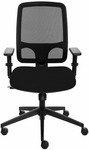 Sync Adjustable Height Task Chair with Mesh Back [SN6302-FS-VALO]