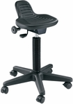 Synchro-Tilt Height Adjustable Painter's Stool - Black [DC206-FS-ALV]