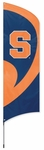 Syracuse Orangemen Tall Team Flag w/ Pole [TTCUS-FS-PAI]