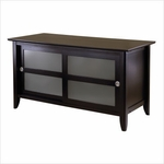 Syrah TV Stand with Frosted Glass [92445-FS-WWT]