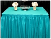 Table Skirts and Clips