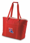 Tahoe Insulated Beach Bag - Red- Louisiana Tech University Digital Print [598-00-100-854-0-FS-PNT]
