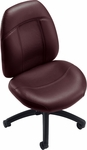 Tamiri Low Back Armless Task Chair with Casters - Grade 7 [4529-6-GR7-FS-GLO]