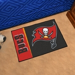 Tampa Bay Buccaneers Team Uniform Inspired Starter Mat 19'' x 30'' [8251-FS-FAN]