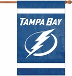 Tampa Bay Lightning Applique Banner Flag [AFLIG-FS-PAI]
