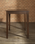 Tapered Leg Pub Table in Vintage Mahogany Finish [KD20002MA-FS-CRO]