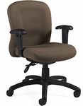 Tara Low Back Task Chair with Arms and Casters - Grade 3 [3175-6-GR3-FS-GLO]