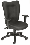 Multi-Function Task Chair with 3 Paddle Mechanism - Black [B2007-BK-FS-BOSS]