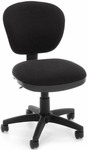 Lite Use Computer Task Chair - Black [150-126-T-FS-MFO]