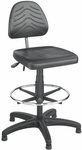 TaskMaster® 19'' H Adjustable Height Workbench Deluxe Drafting Stool - Black [5113-FS-SAF]