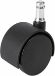 TaskMaster® 2'' H Carpet Wheel Casters - Black [5131-FS-SAF]