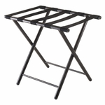 Tavin Luggage Rack with Folding Straight Legs [93522-FS-WWT]
