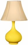 Splash Ceramic Teardrop 25.5''H Table Lamp with Sewn Beige Shade - Mimosa [12T276MM-FS-PAS]