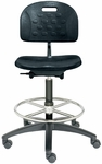 Tec Line Polyurethane Medium Height Stool [SP9110M-FS-DV]