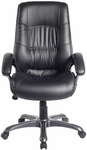 Techni Mobili Executive High Back Chair [RTA-722H-BK-FS-RTAP]